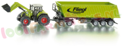 CLAAS AXION + LADER EN KIEPER 1/50