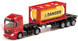 MERCEDES-BENZ TRUCK + TANKCONTAINER 1/50