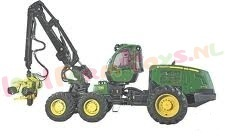 JOHN DEERE 1470 E FORWARDER 1/32