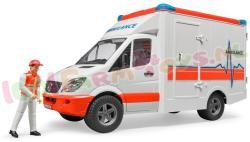 MB SPRINTER AMBULANCE + CHAUFFEUR 1/16