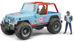 JEEP CROSS COUNTRY BLAUW 1/16