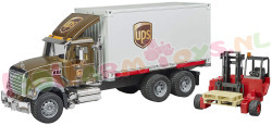 MACK UPS + HEFTRUCK 1/16