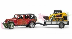 JEEP WRANGLER RUBICON MET CAT LADER 1/16