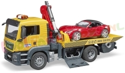 MAN TGS SLEEPTRUCK + ROADSTER 1/16