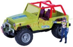 BRUDER JEEP CROSS COUNTRY GROEN 1/16