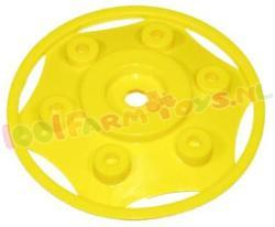 WIELDOP GEEL ROLLY TOYS 120 MM